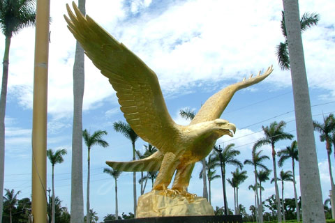 Bronze animal statue--Bronze Eagle decoration sculpture for sale
