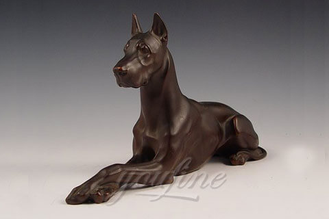 Life Size Famous Copper Dog Statue for Home BOK-304
