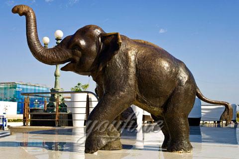 Wholesale Small Cast Bronze Elephant Sculptures for sale