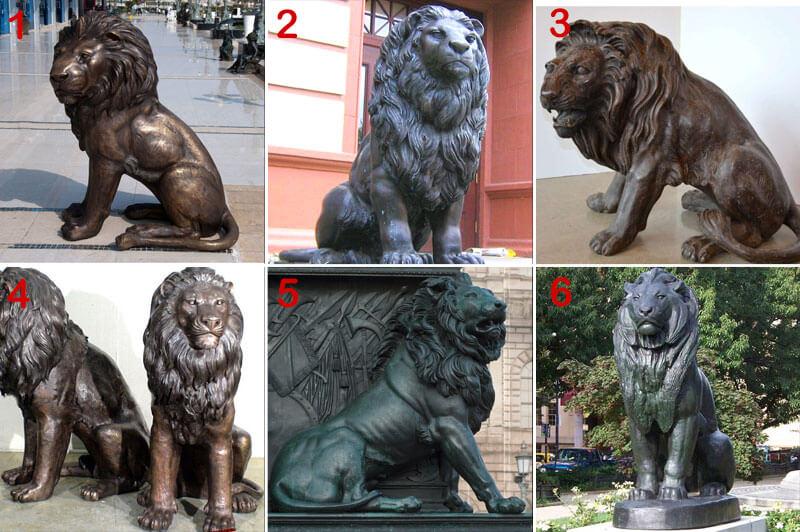 bronze-lion-statue-designs