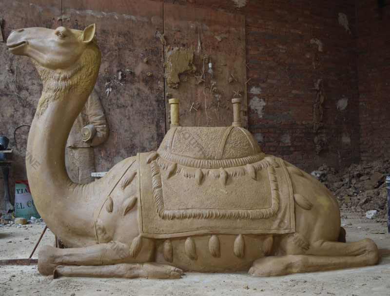 Clay model of Camel