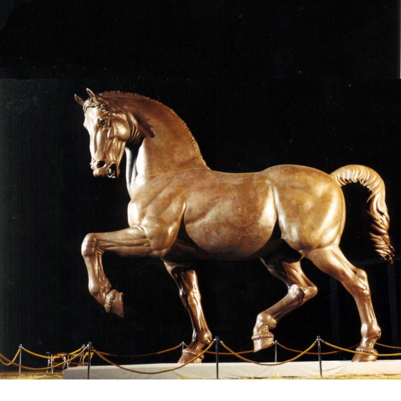 bronze horse sculptures for sale