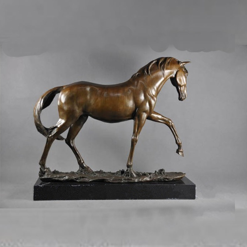 greek bronze horse statues for sale