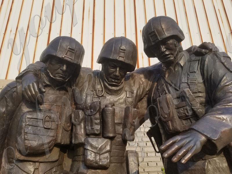 Custom-Military-Bronze-Statues-The-Three-Soldier-Sculptures-Memorial