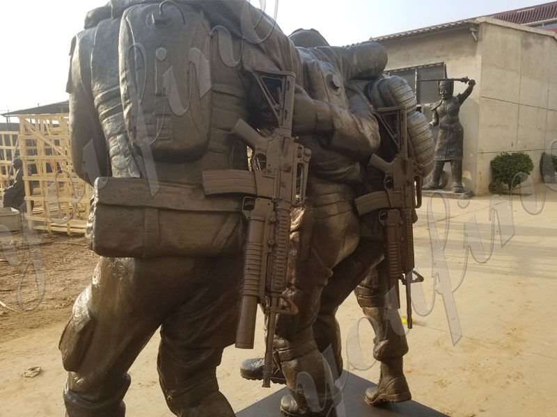 Custom-Military-Bronze-Statues-The-Three-Soldier-Sculptures-for-outdoor