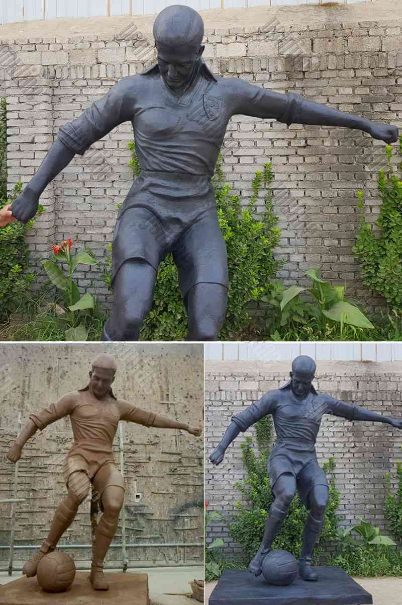 brass Life Size custom statue from Pictures for Outside
