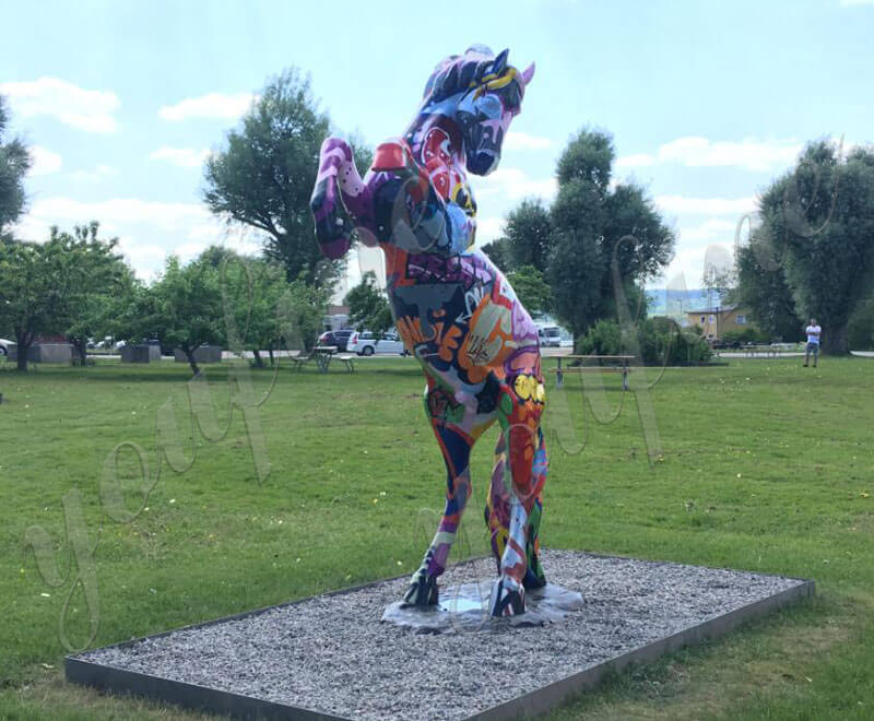 rearing-statue-horse