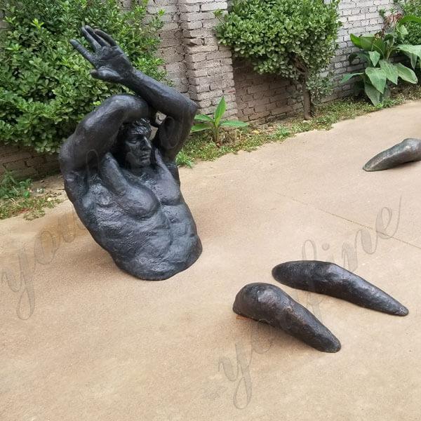 Bronze Cast Wall Art Matteo Pugliese Sculpture replica Matteo Pugliese for sale