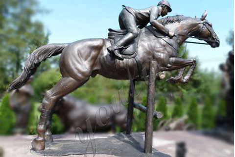 outdoor-life-size-bronze-horse-racing-statues-with-jockey