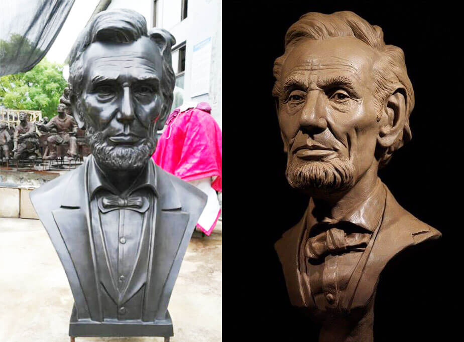 Bronze-Abraham-Lincoln-Bust-Replica-for-sale