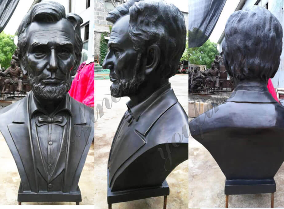 Bronze-Famous-Abraham-Lincoln-Bust-Replica-for-sale