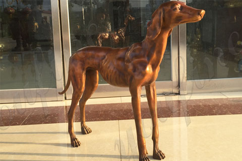 dog-sculpture-greyhound-garden-statue