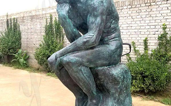 famous bronze Thinker Statue Replica for sale museum replica