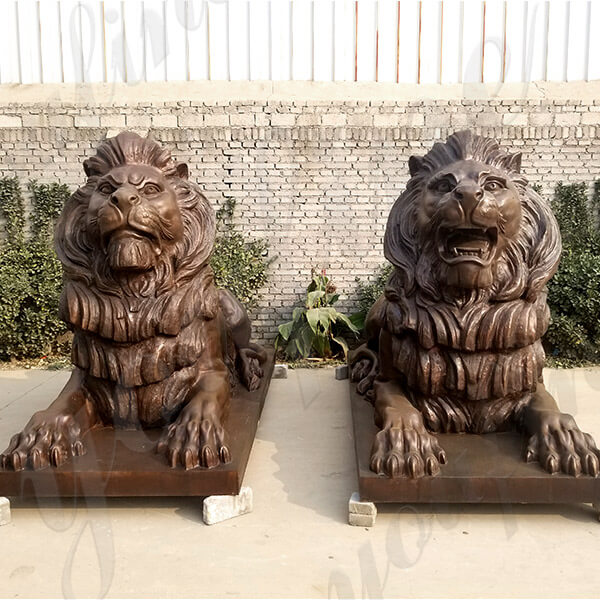 guardian lion statue for front gate