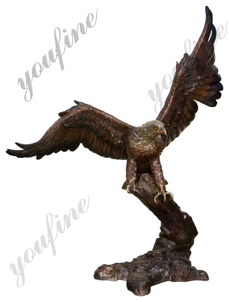 large-outdoor-eagle-statues-for-sale