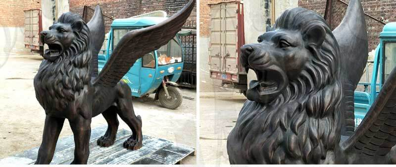 outdoor-life-size-bronze-black-lion-sculpture-for-diverway