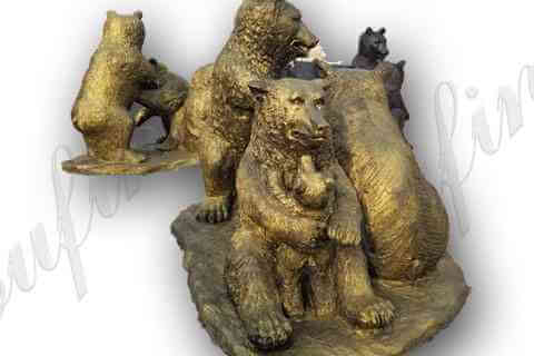 outdoor-bronze-life-size-grizzly-bear-statue-for-sale-garden-animal-sculpture