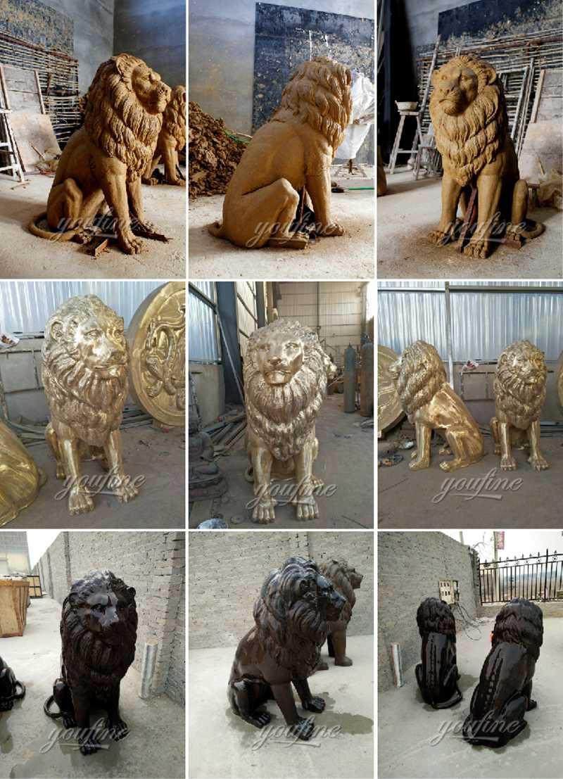 0-bronze-lion statue (9)