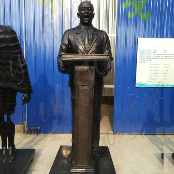 Cusotm Made Life Size Famous Bronze Statue Martin Luther King