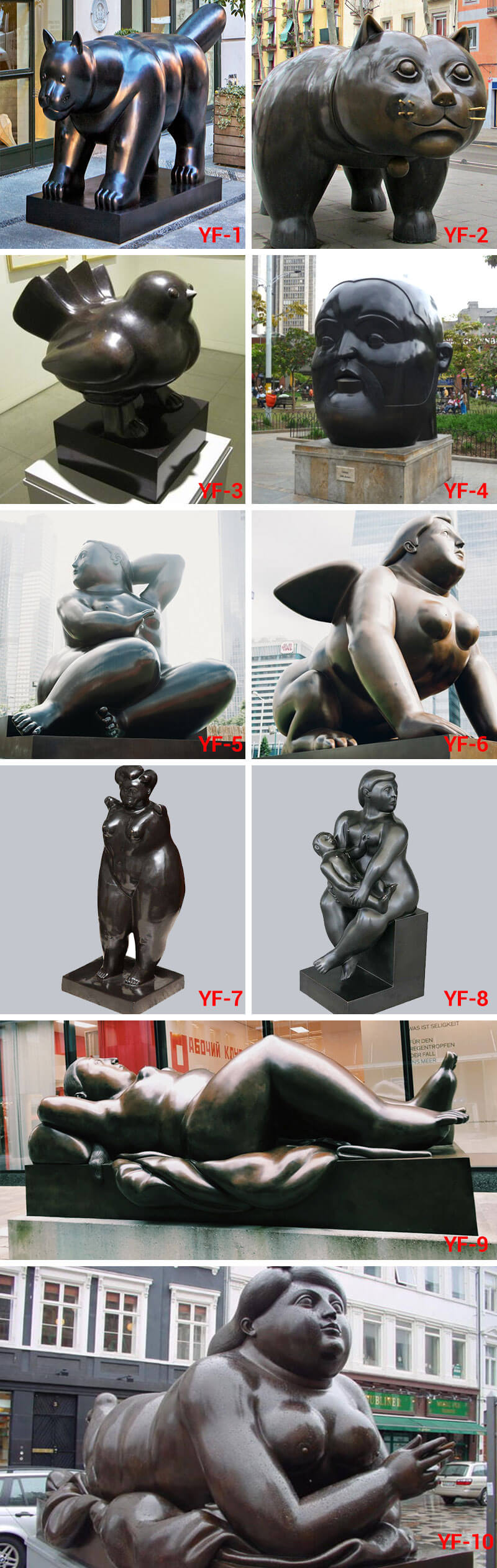 Botero Statue sculptures for sale