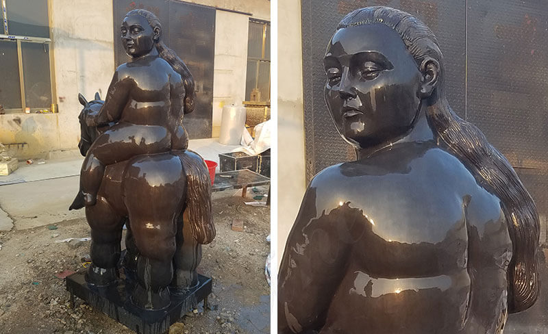 Famous Metal Sculptor Fernando Botero Sculptures Statues Replicas for sale