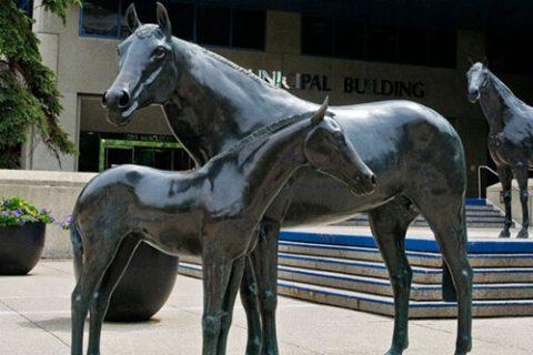 Where to Buy a Bronze Horse Sculpture BOKK-218