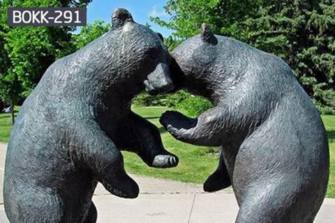 High Quality Bronze Bear Sculpture for Sale BOKK-291