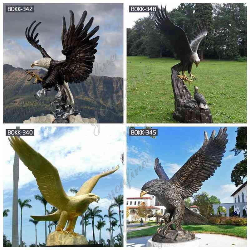 Large Outdoor Antique Bronze Eagle Statue related products