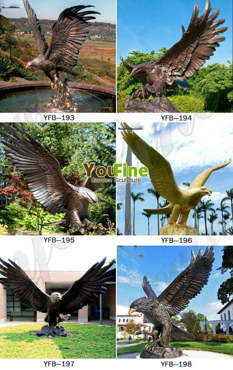large outdoor bald eagle statues related products