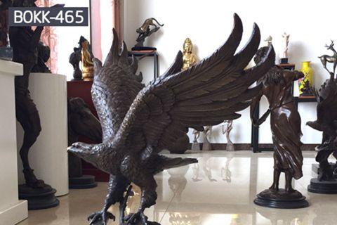 Large Outdoor Bronze Bald Eagle Statue for Sale BOKK-465