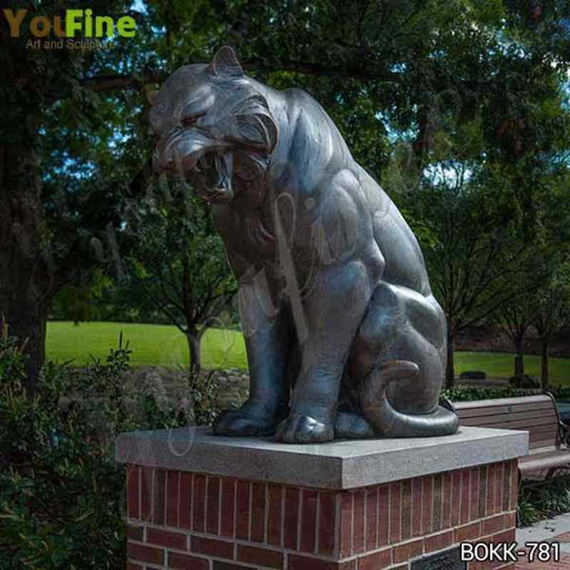 Bronze Tiger Sculpture from USA Customer