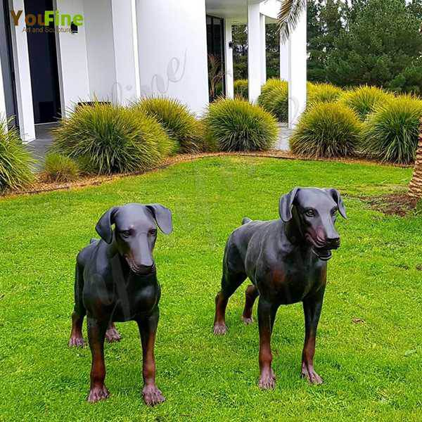 Custom Antique Bronze Dog Statues-Feedback from Our Australian Customers