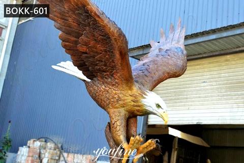 Large Outdoor Bald Eagle Statue Garden Animals Decor for Sale BOKK-601