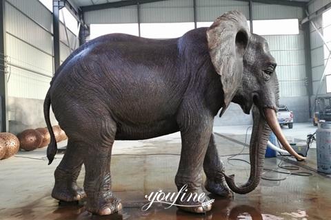 Large Antique Bronze Elephant Statue Door Entrance Decor for Sale ASF-03