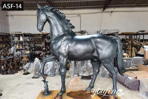 Racecourse Decorative Large Bronze Horse Statues for Sale ASF-14