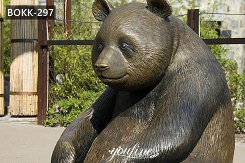 Life Size Bronze Bear Statue Children Park for Sale BOKK-297
