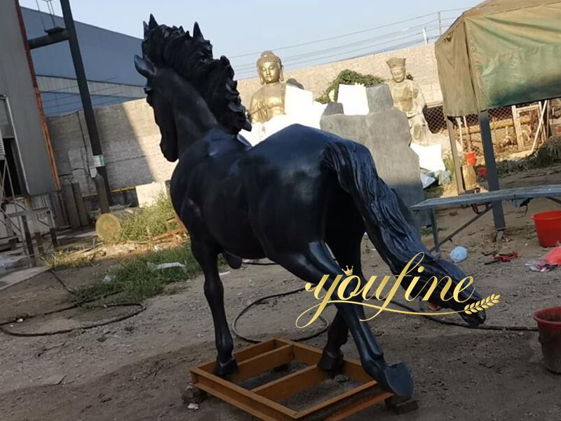 Life Size Vintage Bronze Horse Statue for Sale BOKK-664