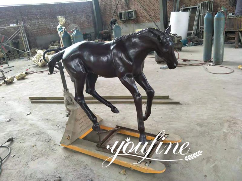 Life Size Bronze Horse Statue Mare and Pony for Sale