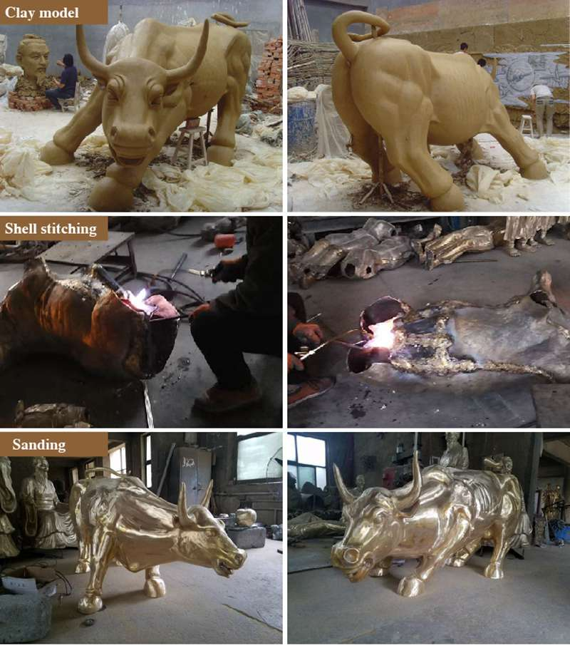Life Size Bronze Horse Statue Mare and Pony for Sale Production Process