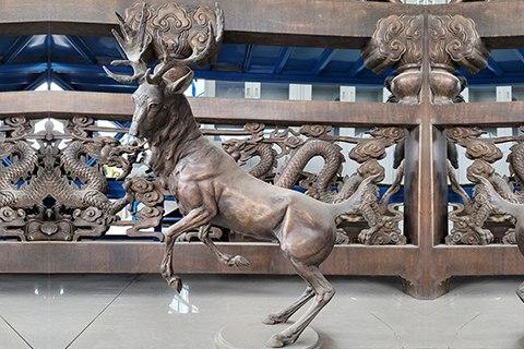 Life Size Bronze Elk Statue for Sale BOKK-999