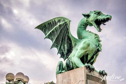Antique Bronze Dragon Sculpture from Manufacturer BOKK-968