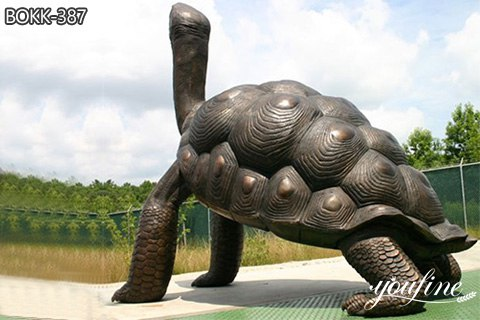 First-Class Bronze Turtle Statue Large Outdoor Decor Factory Supply BOKK-387